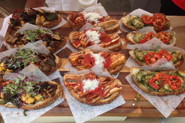 Bruschetta Sandwiches